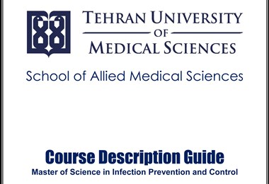 Student admission in Infection Prevention and Control (M.Sc.)