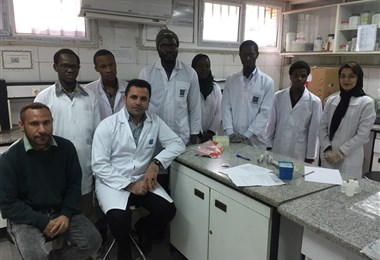 Holding the First Session of Molecular Techniques, for International Students of Allied Medical Sciences School